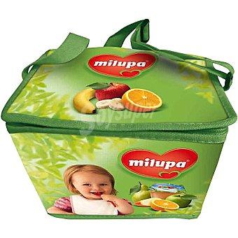 MILUPA Pack Ahorro con Nevera + 3 packs Milupa Frutapura + 1 pack Milupa Petit Plátano