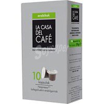 CASA del CAFÉ Café Arábico La Pack 10x5 g