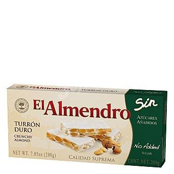El Almendro Turrón duro sn azúcares 200 g