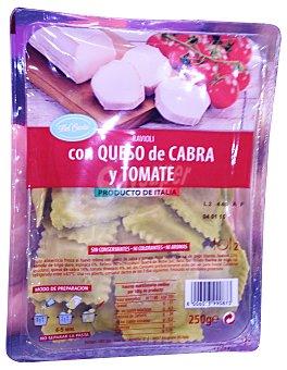 BERTAGNI Pasta fresca ravioli con queso de cabra y tomate TARRINA 250 g