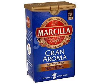Marcilla Café molido descafeinado de tueste natural 200 gramos