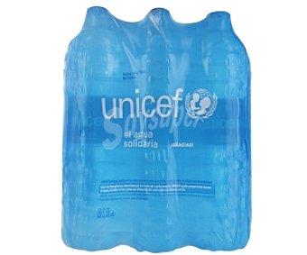 UNICEF Agua mineral Pack 6 unidades de 1,5 Litros