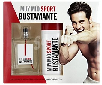 Muy mio sport Busta edt 100ML+GEL 75ml
