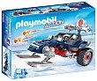 Escenario de juego Racer con Pirata de hielo, incluye figura y accesorios, Action 9058 playmobil  Playmobil