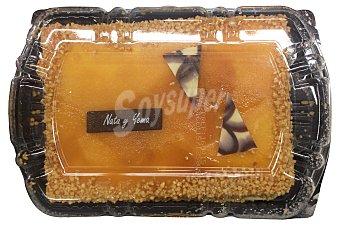 Mercadona Tarta nata yema 8 raciones (cuadrada) pastelería horno 580 g