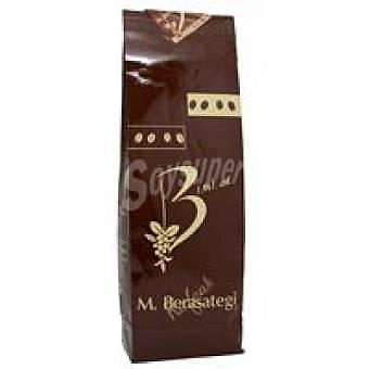BERASATEGI Café molido natural Colombia Paquete 250 g