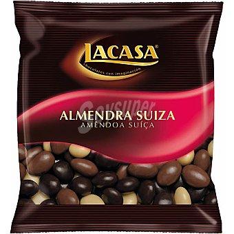 Lacasa Almendras suizas recubiertas de tres chcolates Bote 500 g