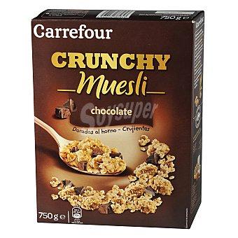 Carrefour Cereales de muesli crujiente con chocolate 750 g