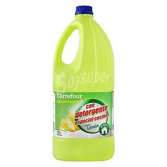 Carrefour Lejía con detergente limón Especial Cocinas 2 l