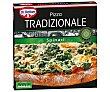 Pizza de espinacas, horneada directamente sobre piedra 360 g Tradizionale Dr. Oetker
