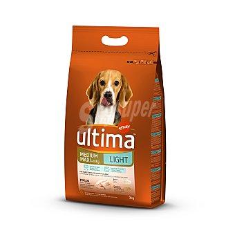 Ultima Affinity Comida Seca Light para Perro Saco de 3 Kilogramos