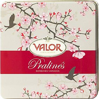 Valor Bombones variados flor de almendro Lata 315 g
