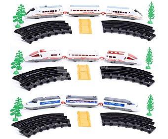 Productos Económicos Alcampo Ciruito de Tren Alta Velocidad con Accesorios 1 Unidad