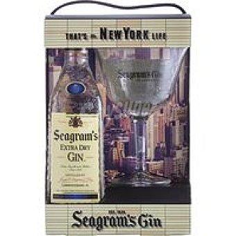 Seagram's Ginebra Botella 70 cl + Copa