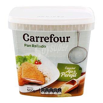 Carrefour Pan rallado ajo especial ajo y perejil 500 g