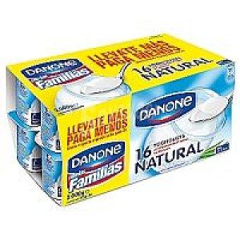 Danone Yogur natural Pack 16x125 g
