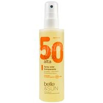 FP50+ belle&SUN Solar transparente Spray 200 ml