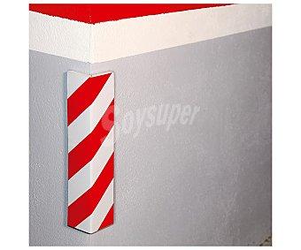 Rolmovil Protector adhesivo esquina y columnas parking, de 40x15 y 1,5 cm de grosor, ROLMOVIL.