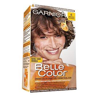 Belle color Tinte color tono Rubio Oscuro Nº 6 1 caja 1 unidad