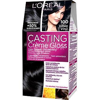 Casting Crème Gloss L'Oréal Paris Tinte vinilo nº 100 Caja 1 unidad