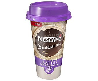 Nescafé Shakissimo Café macchiato Envase 190 ml