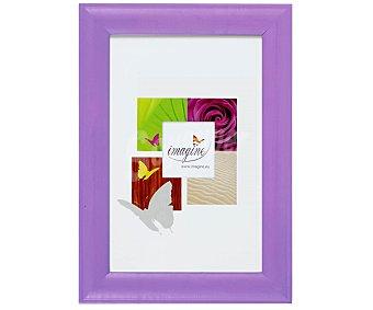 IMAGINE Portafotos de color violeta modelo Fiesta, para fotografias de tamaño 10x15 1 Unidad