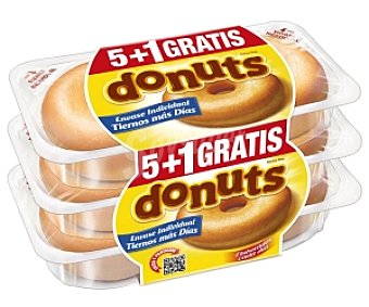 PANRICO Donuts Original 5+1 312 Gramos (6 unidades)