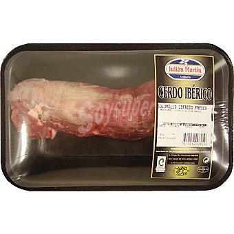 JULIAN MARTIN Solomillo fresco de cerdo ibérico 1 unidad peso aproximado Bandeja 300 g