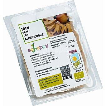 SOJHAPPY Tofu de té con albaricoque ecológico  envase 175 g