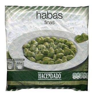 Hacendado Haba fina congelada Paquete 450 g