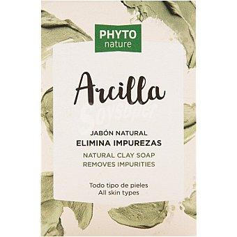 Luxana Phyto Nature Jabón natural elimina impurezas Arcilla Pastilla 120 g
