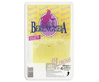 Berenguela Queso en Lonchas Edam Light 250 Gramos