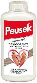 PEUSEK Express Desodorante en polvo para pies y calzados evita el mal olor 150 Gramos