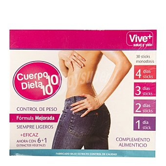 Viveplus Cuerpo 10 30 ud