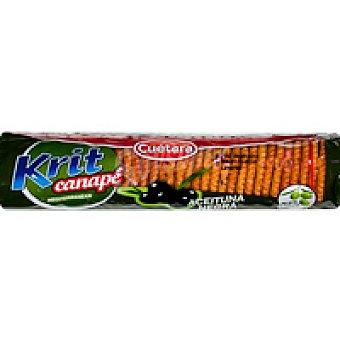 Cuétara Galleta krit para canapé con aceituna negra Paquete 115 g
