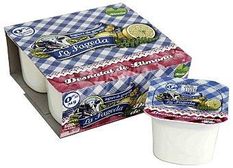 La Fageda Yogur Desnatado Limón 4 Unidades de 125 Gramos