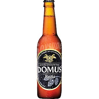 DOMUS Regia Cerveza rubia artesanal de Toledo Botella 33 cl