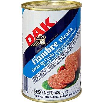 Dak chopped pork lata 435 g neto escurrido