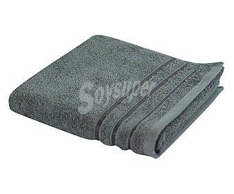 Actuel Toalla 100% algodón color gris para lavabo, densidad de 480 gramos/metro² 1 unidad