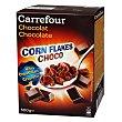 Cereales de maíz con chocolate Carrefour 500 g Corn Flakes Kellogg's