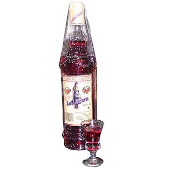 LA VIOLETERA Crema de guinda Botella 70 cl