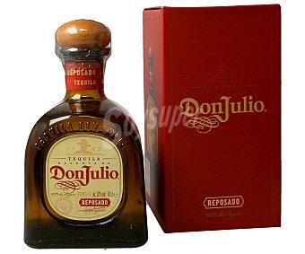 DON JULIO Tequila reposado Botella de 70 centilitros