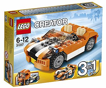 LEGO Juego de Construcciones Creator, Descapotable Sunset 3 en 1, Modelo 31017 1u