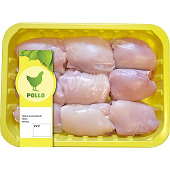 Sada Escalope de pollo peso aproximado bandeja 650 g 6 unidades