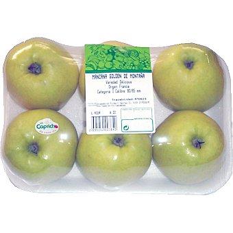 Manzana Golden montaña bandeja 1 kg aprox