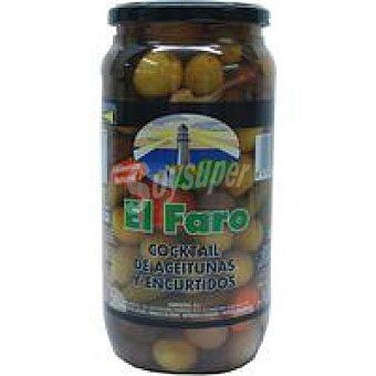 Faro Cocktail de aceitunas-encurtidos Frasco 550 g