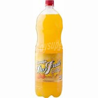 Flor Fruit Refresco de naranja sin gas Botella 2 litros