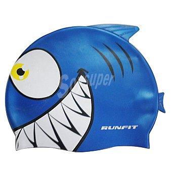 RUNFIT Tiburón Gorro de natación junior en colores surtidos