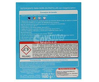 Auchan Detergente en pastillas para lavadora frescor puro 56 pastillas