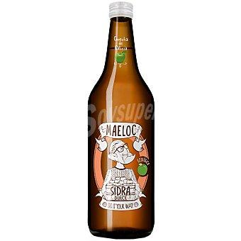 MAELOC Sidra dulce natural ecológica Botella 75 cl